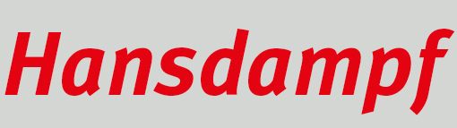 Hansdampf Logo